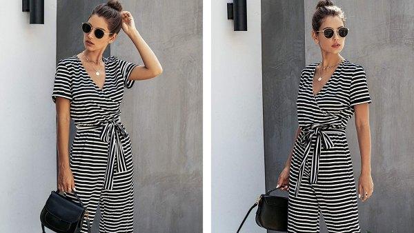 prettygarden-striped-jumpsuit