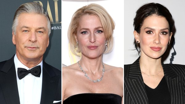 Alec Baldwin Jokes About Gillian Anderson 'Switching Accents' After Hilaria Baldwin Controversy