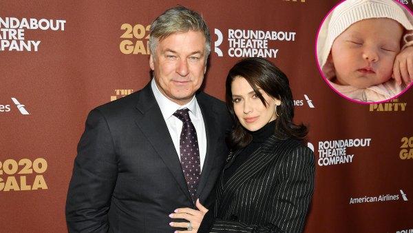 Hilaria Baldwin Reveals Her and Alec Baldwin Newborn Daughter Name Lucia