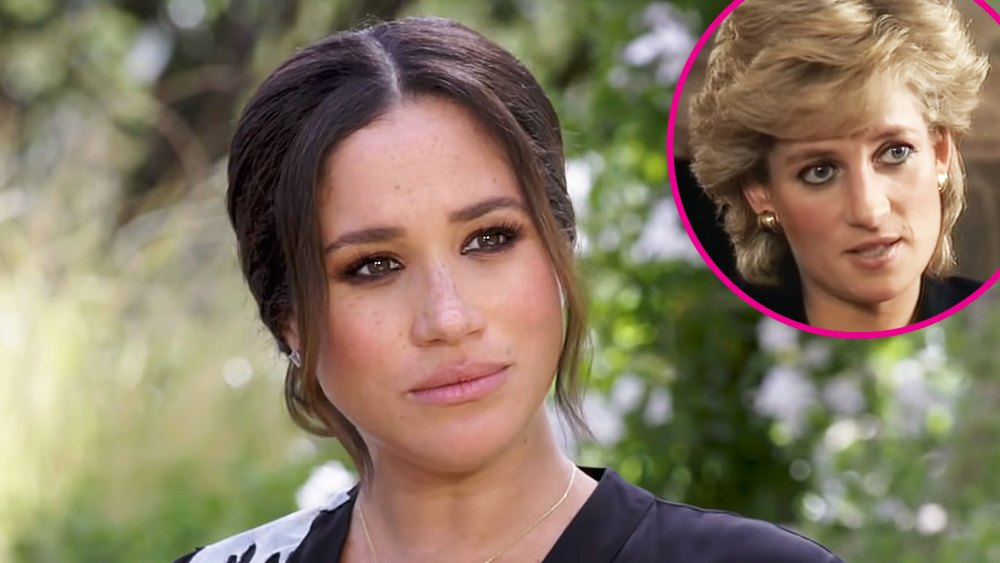 How Meghan Markle's Tell-All Compares to Princess Diana's 1995 Interview