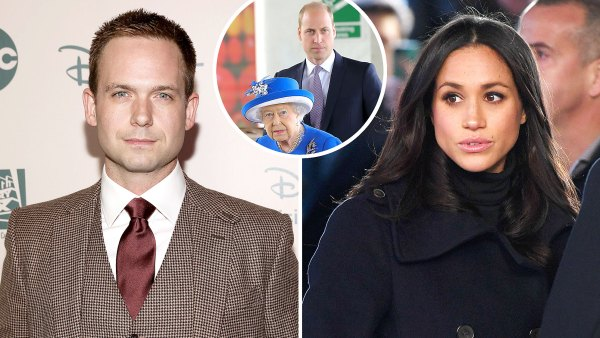 Patrick J Adams Tears Into Royal Family Amid Obscene Meghan Markle Drama