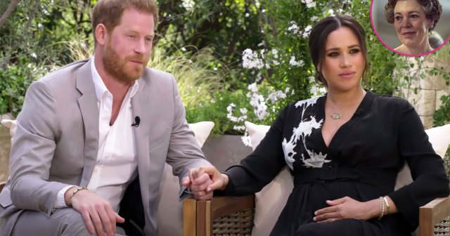 Prince Harry and Meghan Markle Reveal They Have Watched Some of 'The Crown'.jpg