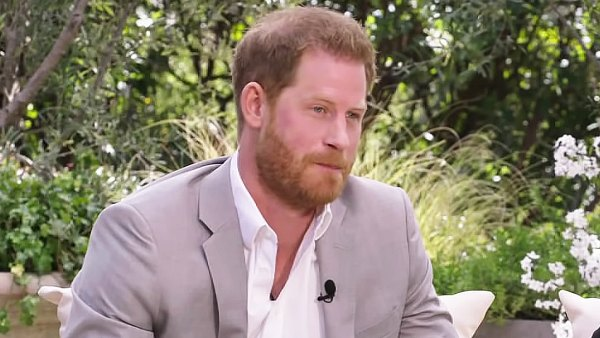 Prince Harry Recycles The Same Grey Suit He Wore to Archie's Christening for CBS Tell-All 2