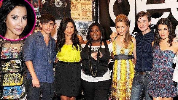 The Glee Cast Minus Lea Michele Is Reuniting to Honor Naya Rivera p
