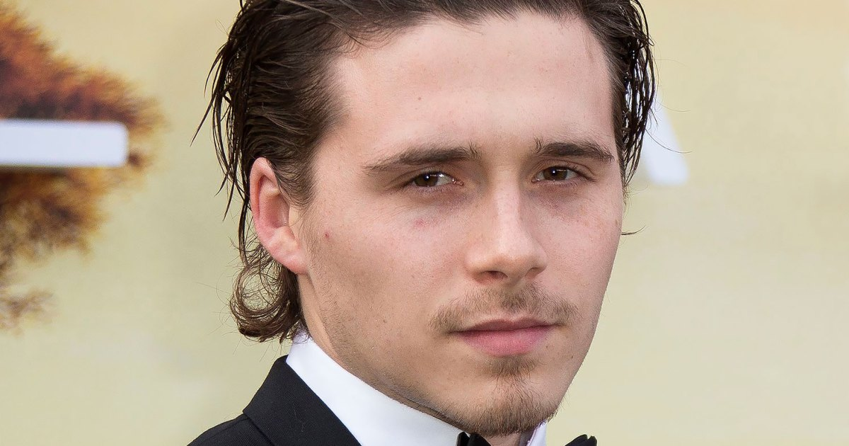 Brooklyn Beckham's Latest Body Treatment Leaves Weird Scarring on His Back: Pics
