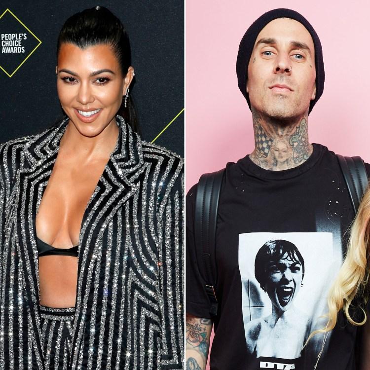 Kourtney Kardashian Responds After Travis Barker Hints She ...