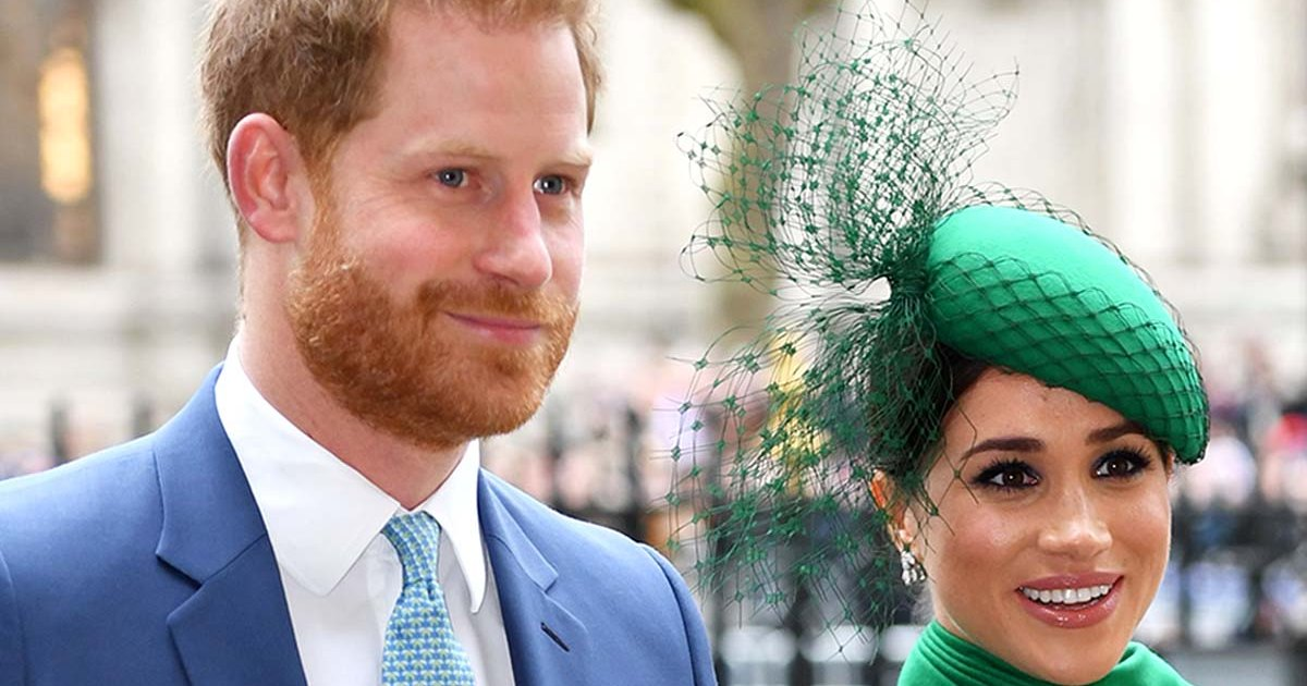 Prince Harry and Meghan Markle were demoted on the royal website