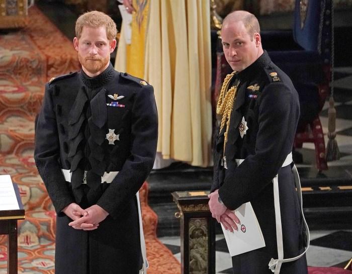 Le prince William et le prince Harry ne marcheront pas côte à côte aux funérailles du prince Philip