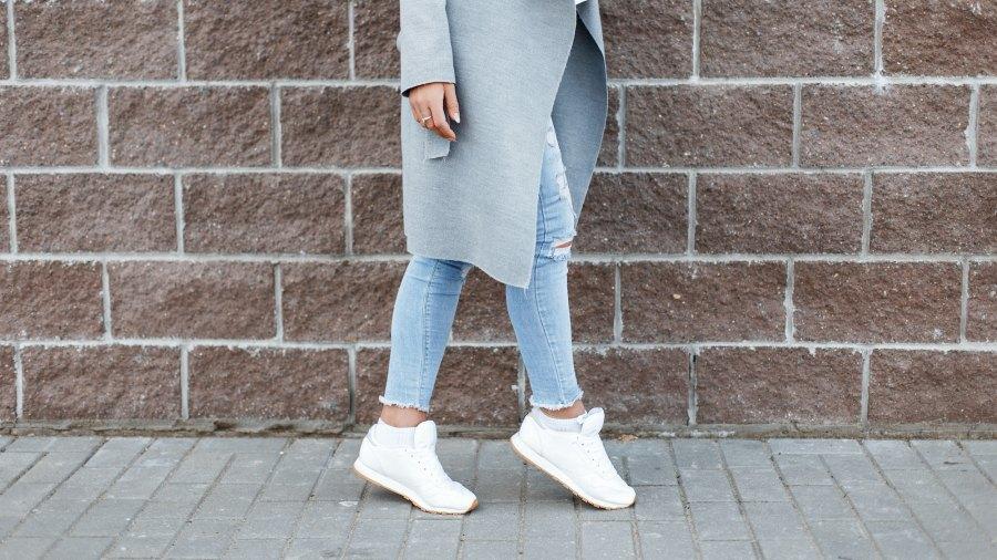 White-Sneakers-Stock-Photo