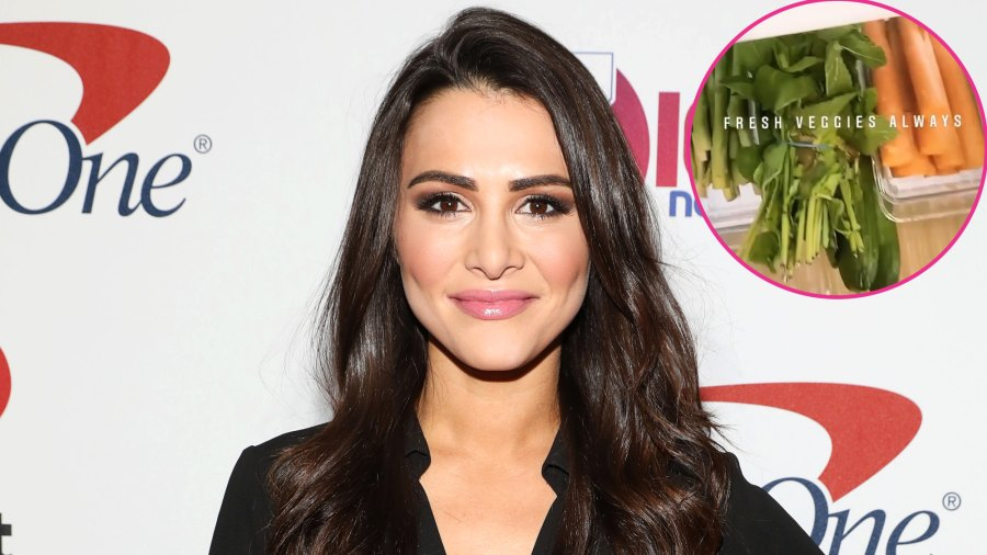 Andi Dorfman Gives a Tour of Her Fridge: 'Abs Are Made in the Kitchen'