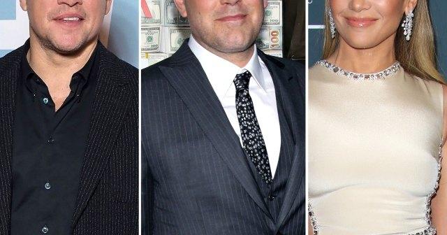 Matt Damon Weighs In on Possible Reunion Between Exes Ben Affleck and Jennifer Lopez: 'I Hope It's True'.jpg
