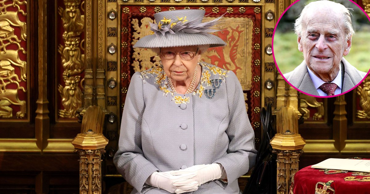 Queen Elizabeth II Makes 1st Official Outing Since Prince Philip's Funeral to Open Parliament