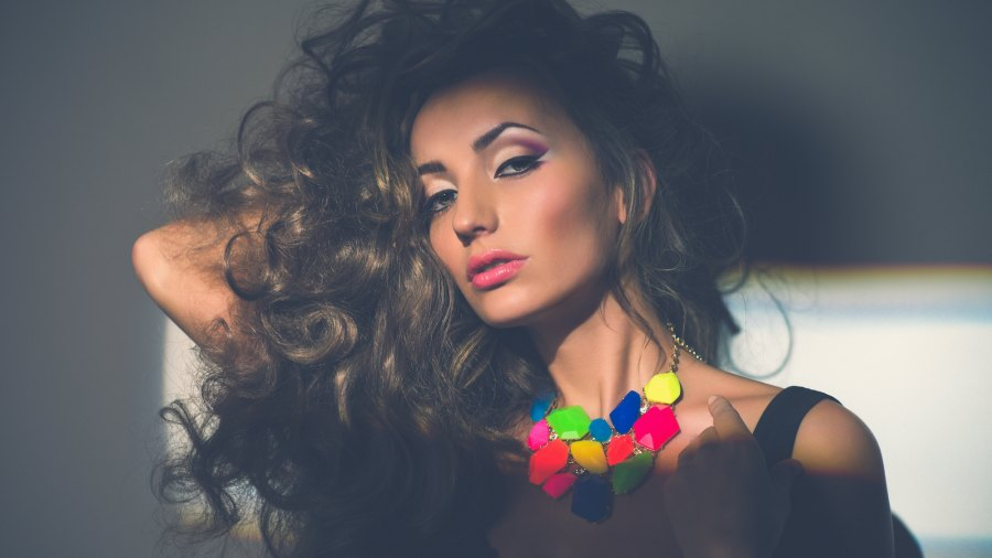 Statement-Necklace-Stock-Photo