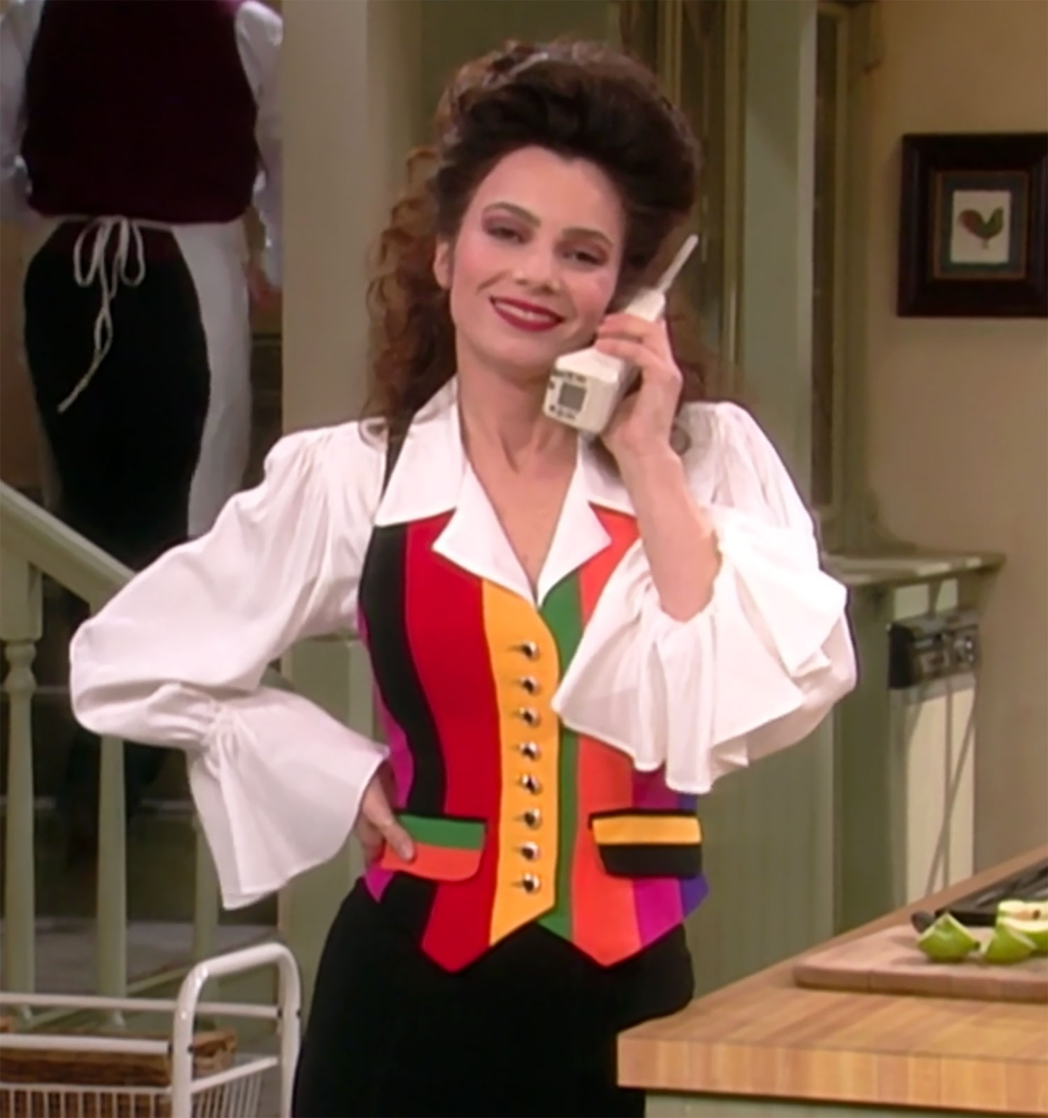 Fran Drescher Rewears Moschino Vest From 'The Nanny': Pic