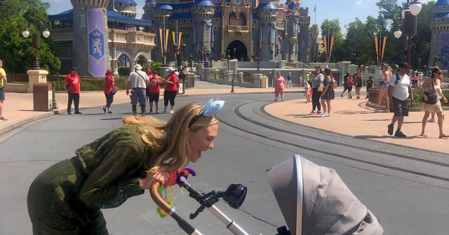 Happiest Place on Earth! Karlie Kloss Brings 3-Month-Old Son Levi to Disney.jpg