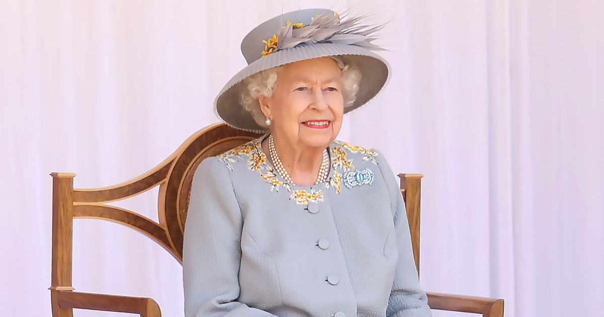 Queen Elizabeth II Celebrates Trooping the Colour Without the Royal Family: Photos