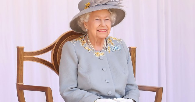 Queen Elizabeth II Celebrates Trooping the Colour Without the Royal Family: Photos.jpg