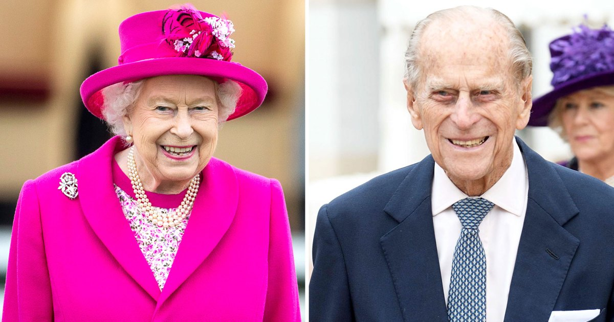 Queen Elizabeth II receives a new rose with the name of Prince Philip