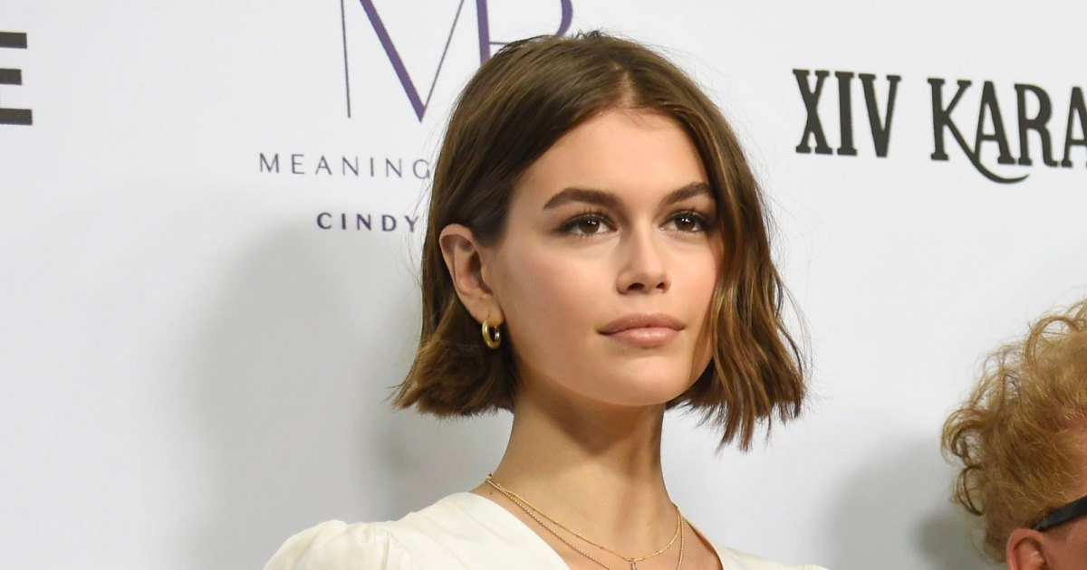 Kaia Gerber Creates Her Luminous, Fresh-Faced Look With This Luxe Foundation