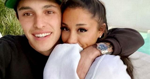 Ariana Grande and Husband Dalton Gomez Enjoy Date Night at 'Stunning' Christina Aguilera Concert.jpg