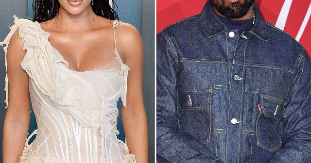 Kim Kardashian Supports Kanye West at 'Donda' Release Event With Kids 5 Months After Split.jpg