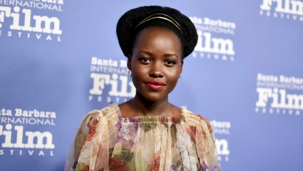 Lupita Nyong'o Looks Ridiculously Chic With Curly Bangs