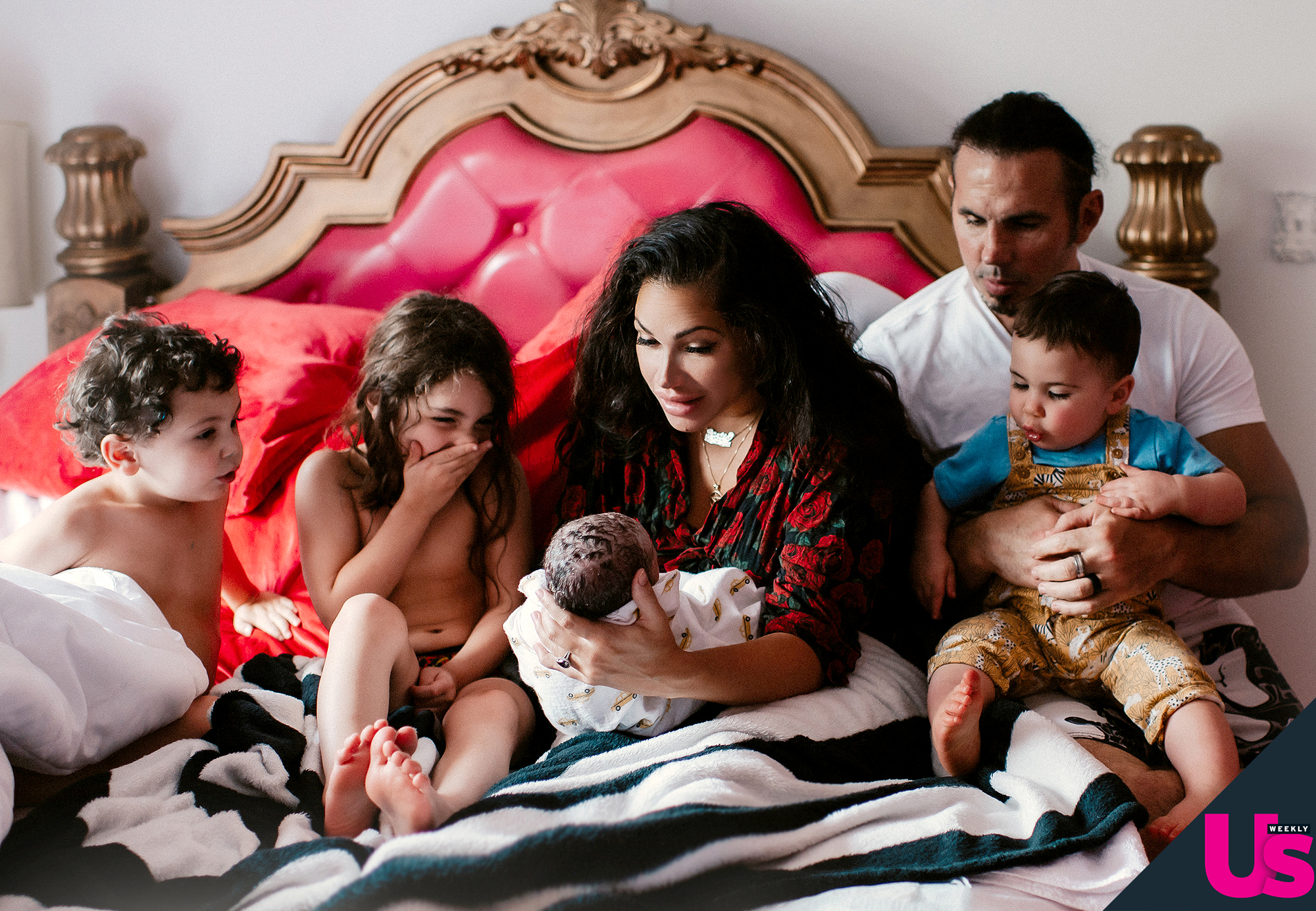 Matt and Reby Hardy welcome fourth child to the world