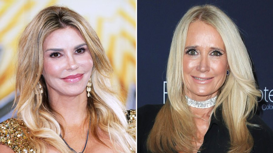 Brandi Glanville Reveals She Isn't Speaking to 'Real Housewives of Beverly Hills' Costar Kim Richards After 'Hot Tub Fight'