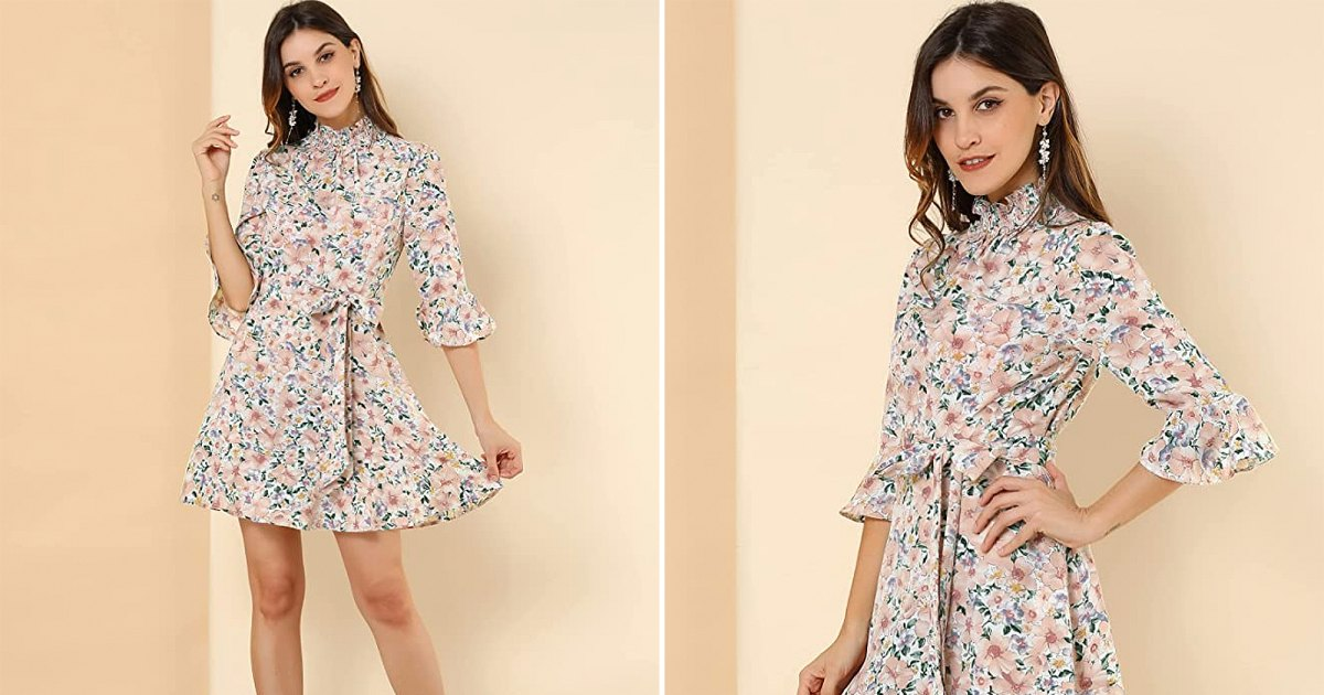 Find Out How We're Styling Florals for Fall With This Adorable Dress