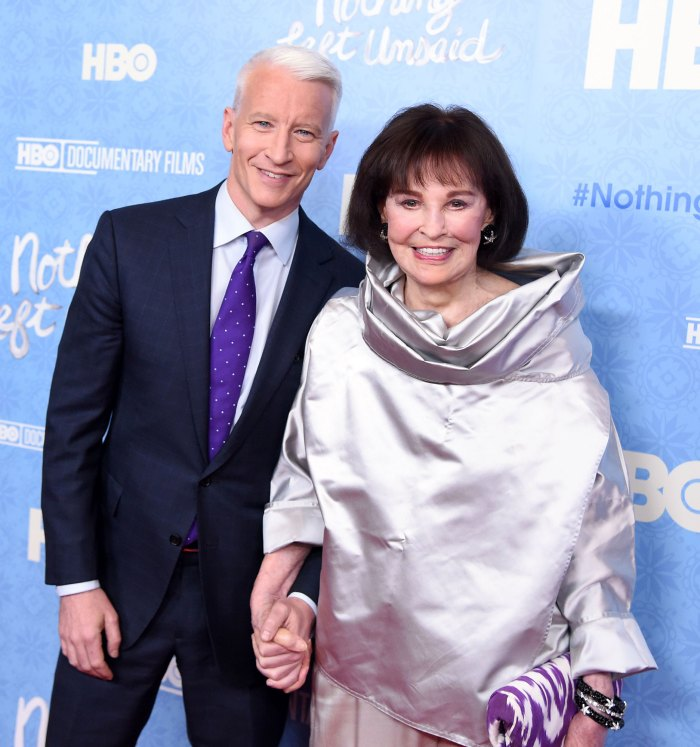 Anderson Cooper Late mother Gloria Vanderbilt wanted to be his surrogate
