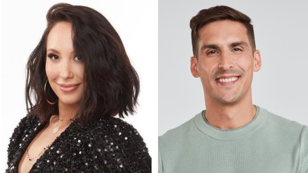 Cheryl Burke on Sobriety DWTS With Cody Rigsby