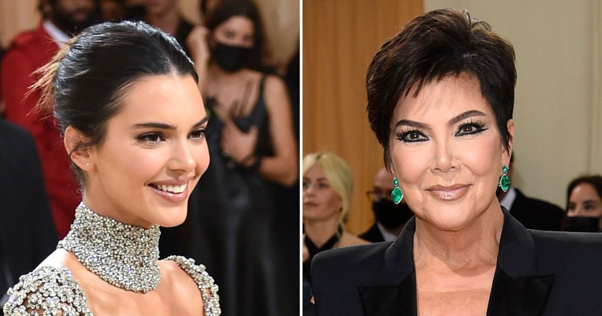 Wait, Did Kendall Jenner Not Know Mom Kris Jenner Was Going to the Met Gala?! - Us Weekly