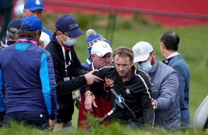 Harry Potter's Tom Felton Collapses During Celebrity Golf Tournament