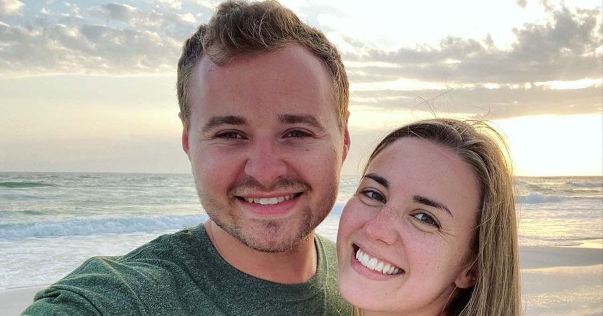 Photo of Jed Duggar and Wife Katey Face Backlash for COVID Joke in Pregnancy Reveal