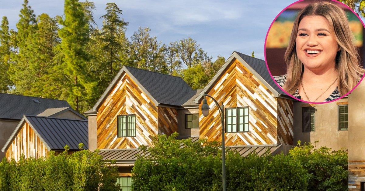 Kelly Clarkson Sells Farmhouse She Custom-Designed With Ex Brandon Blackstock: See Inside $8.24M Mansion