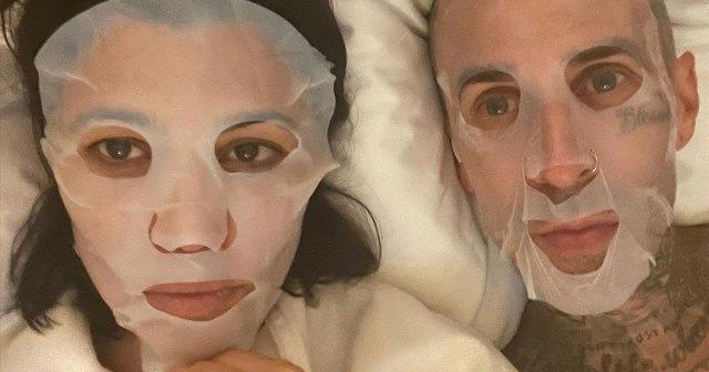 Kourtney Kardashian and Travis Barker Share Their Own Take on 'Instagram vs Reality'.jpg