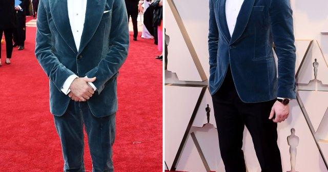 Twinning! Jason Sudeikis Wears Chris Evans' 2019 Oscars Suit to the 2021 Emmys.jpg