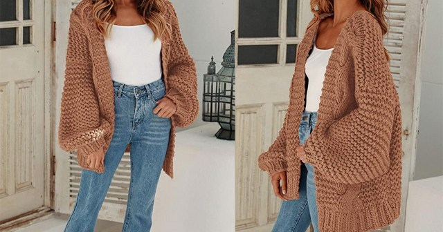Reviewers Say This Chunky Cardigan Looks More Expensive Than It Is.jpg