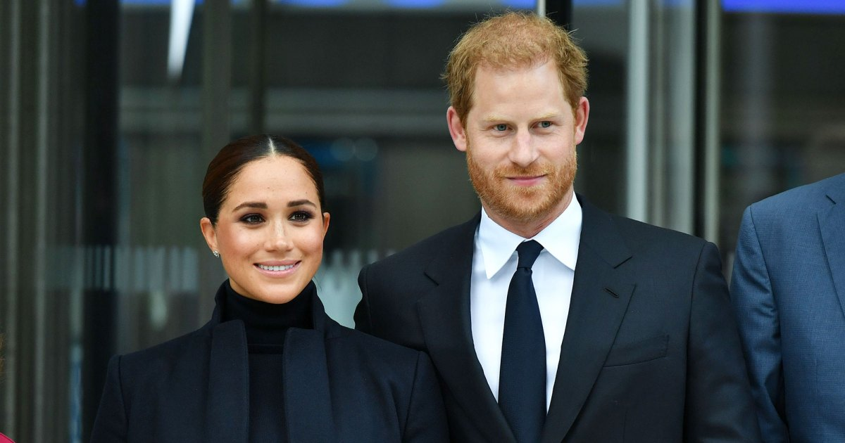 Too Cute! Prince Harry's Briefcase Is Engraved With 'Archie's Papa'