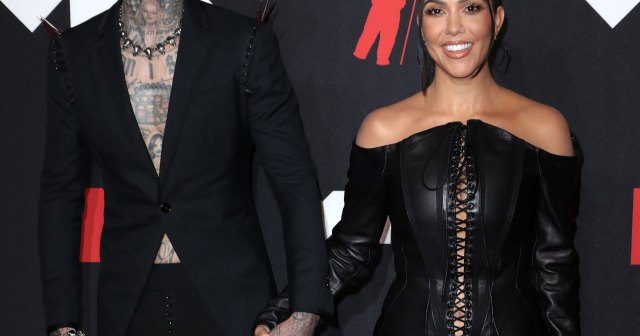 Travis Barker Tells Kourtney Kardashian He Wants to 'Laugh' with Her for the Rest of His Life.jpg