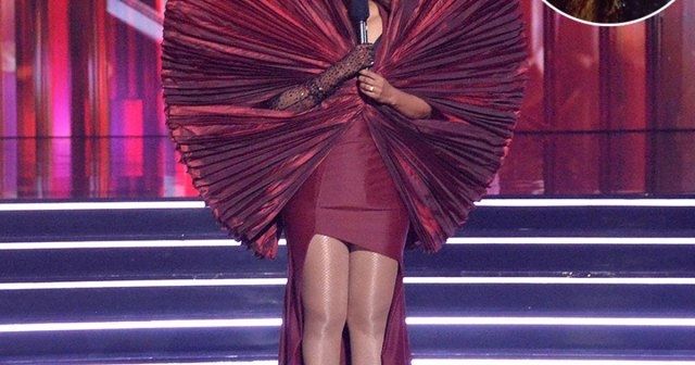 LOL! Tyra Banks' 'Dancing With the Stars' Outfit Sparks Hysterical 'Jurassic Park' Dinosaur Comparisons.jpg