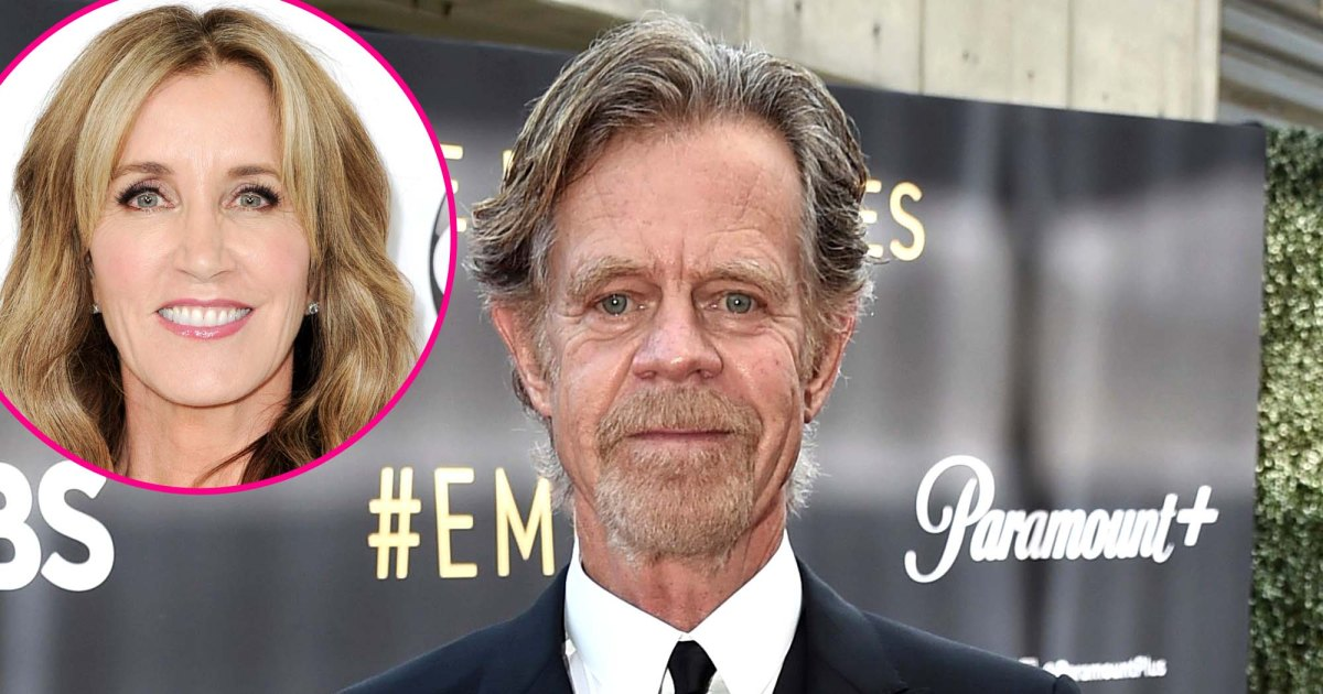 William H. Macy Attends Emmys 2021 Without Wife Felicity Huffman 2 Years After College Admissions Scandal