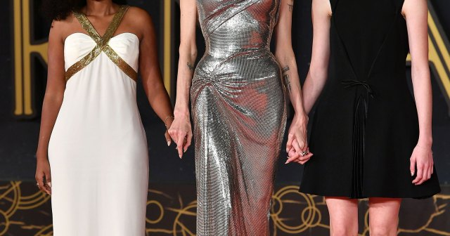 Angelina Jolie Brings Zahara and Shiloh to 'Eternals' Premiere in Rome: Photos.jpg