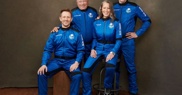 William Shatner, 90, Becomes the Oldest Person to Go to Space After Blue Origin Rocket Launch.jpg