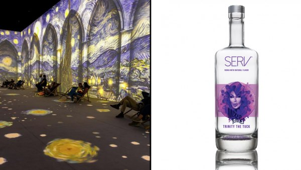 Buzzzz-o-Meter: Immersive Van Gogh, Serv Vodka and More That Hollywood Is Buzzing About This Week