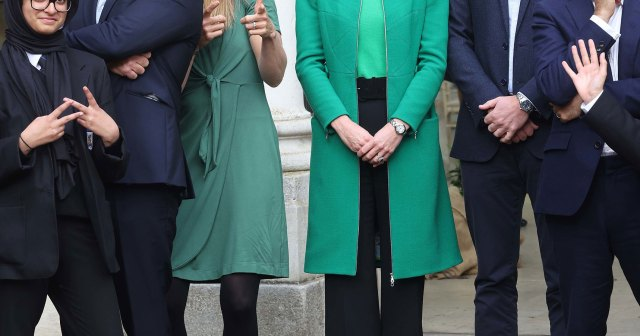 Just Like Us! Duchess Kate Rewears Green Erdem Coat She Debuted Nearly a Decade Ago.jpg