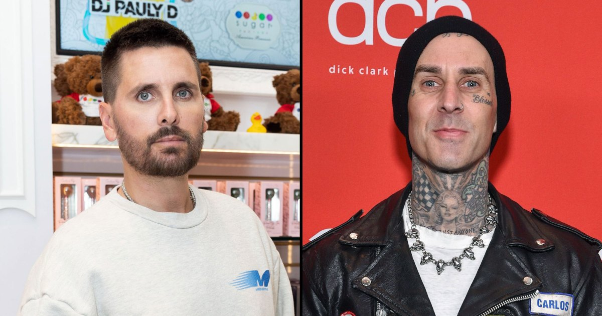 Scott Disick 'Avoids' Family Events Because of Travis Barker: He 'Feels Like an Outcast'