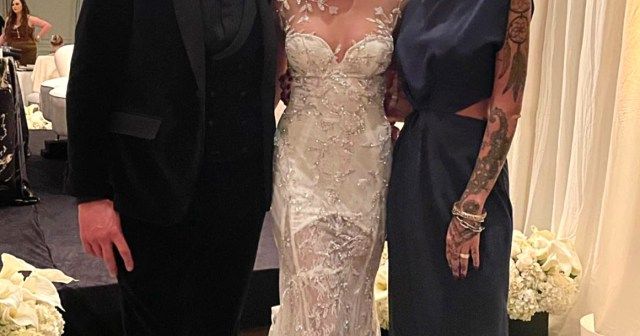 'Beautiful' Day! 'Selling Sunset' Cast Parties at Costar Heather Rae Young's Wedding to Tarek El Moussa.jpg