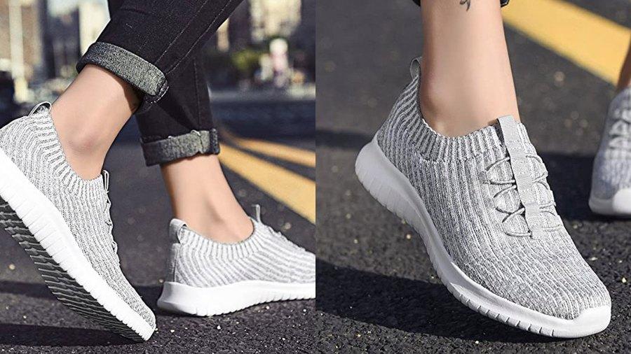 TIOSEBON Women's Slip On Walking Shoes