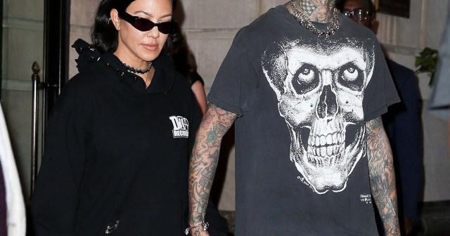 A Permanent Pout! Travis Barker Gets Kourtney Kardashian's Lips Inked on His Arm.jpg